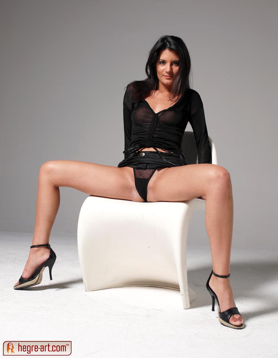 Girls stockings art nude hegre