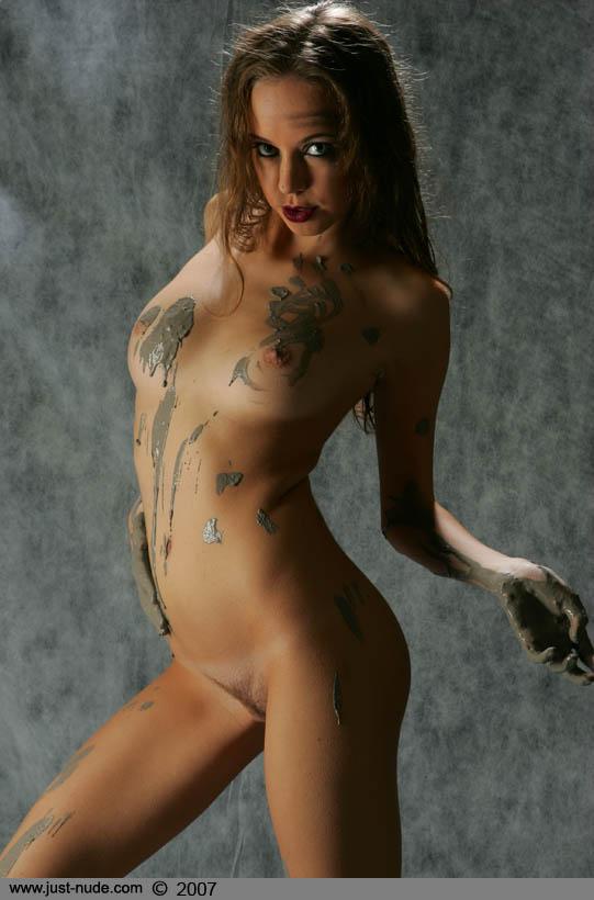 Nude bbw pin up