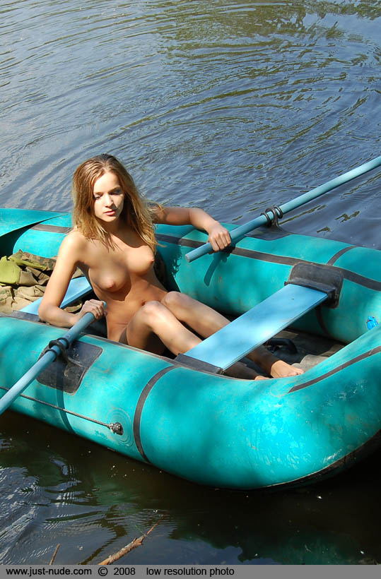 Nude on a boat pics