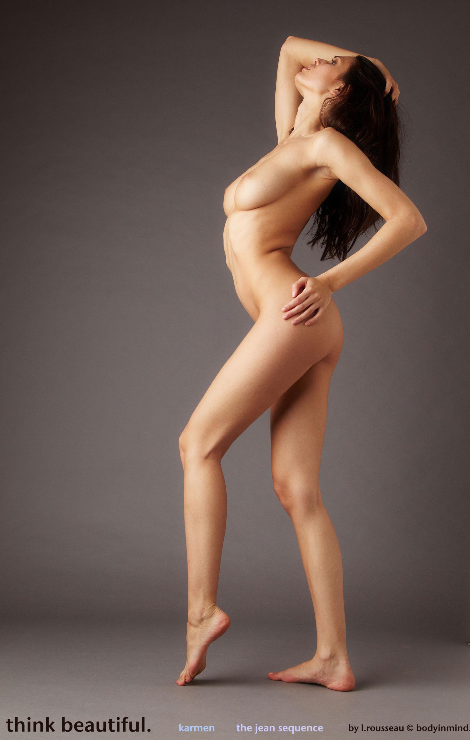 Karmen in Jeans Sequence - NudesPuri.com