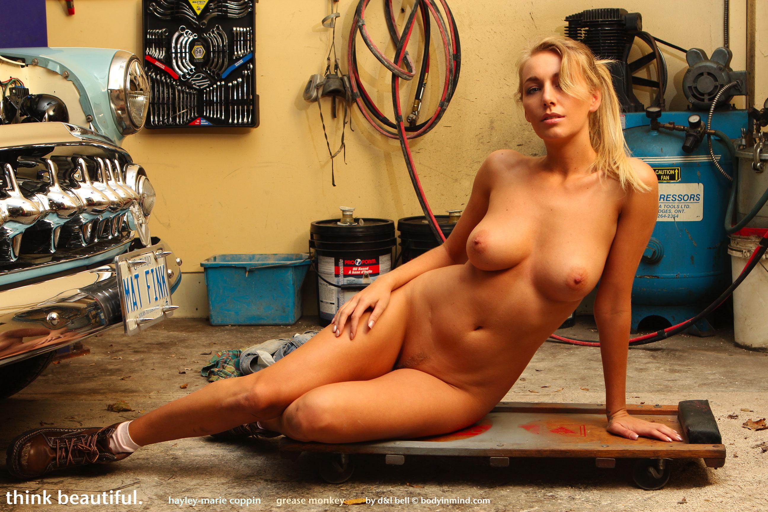 Hayley-Marie Grease Monkey - NudesPuri.com