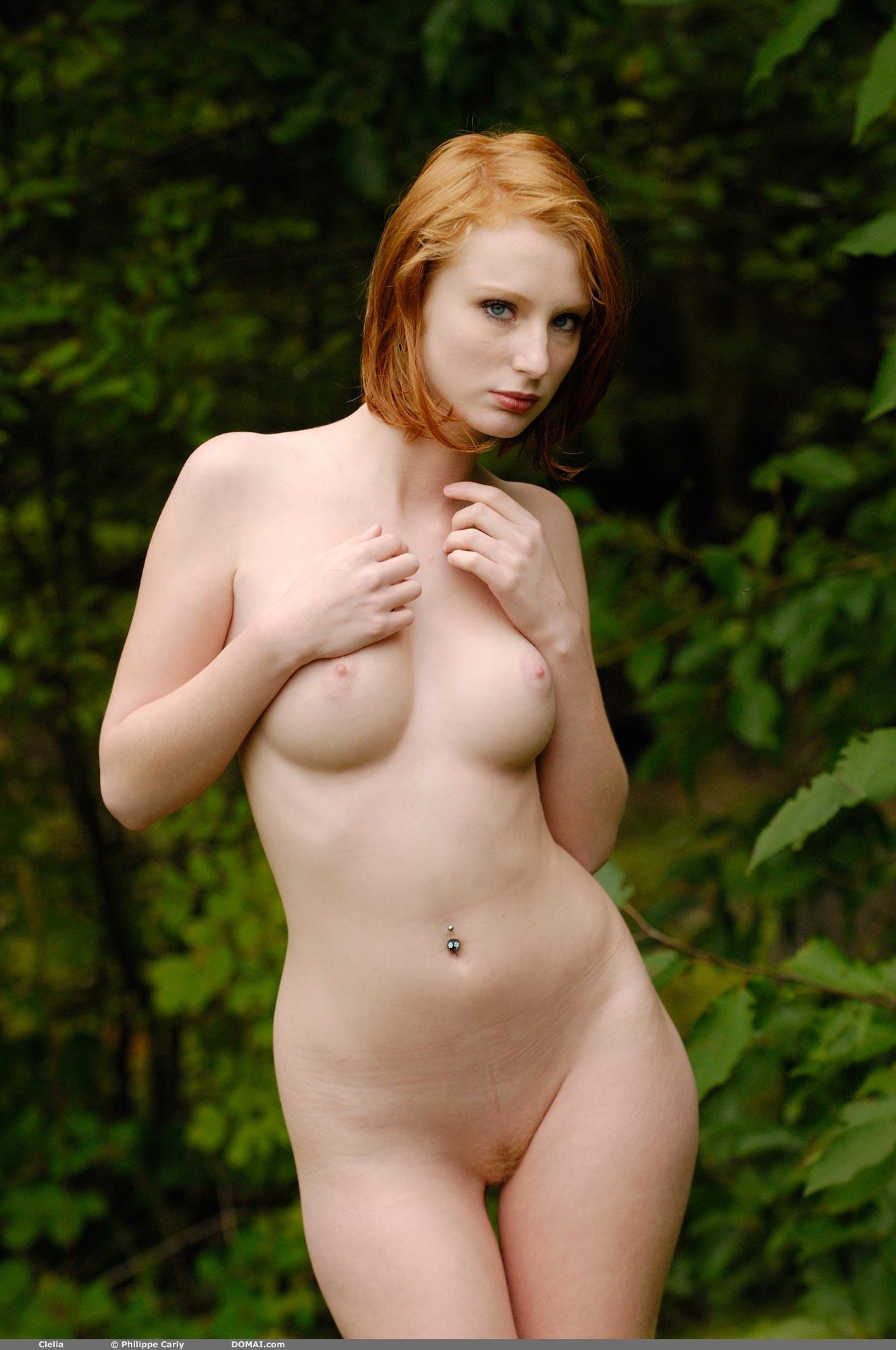 Clelia Playful Redhead - NudesPuri.com