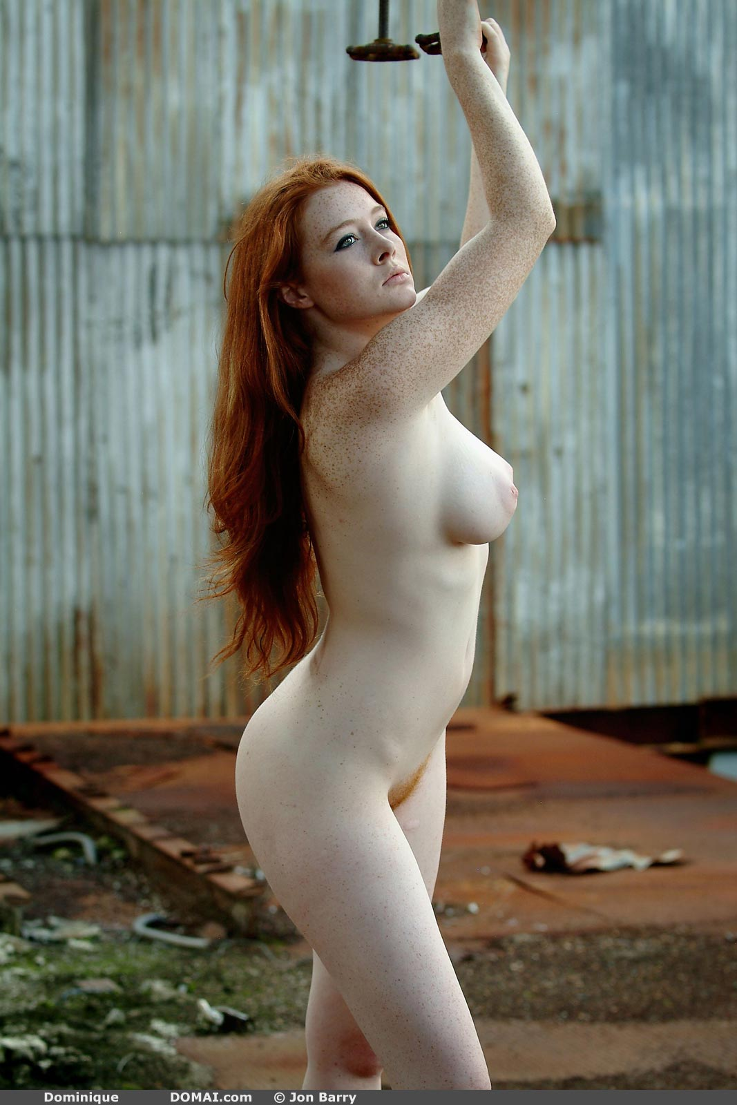 Dominique Beautiful Redhead - NudesPuri.com