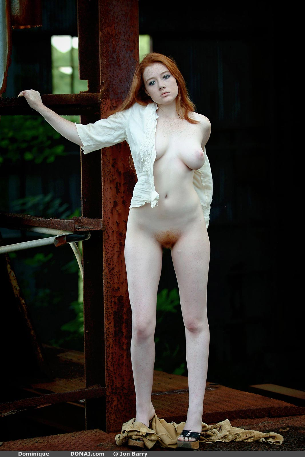 Dominique Beautiful Redhead - NudesPuri.com