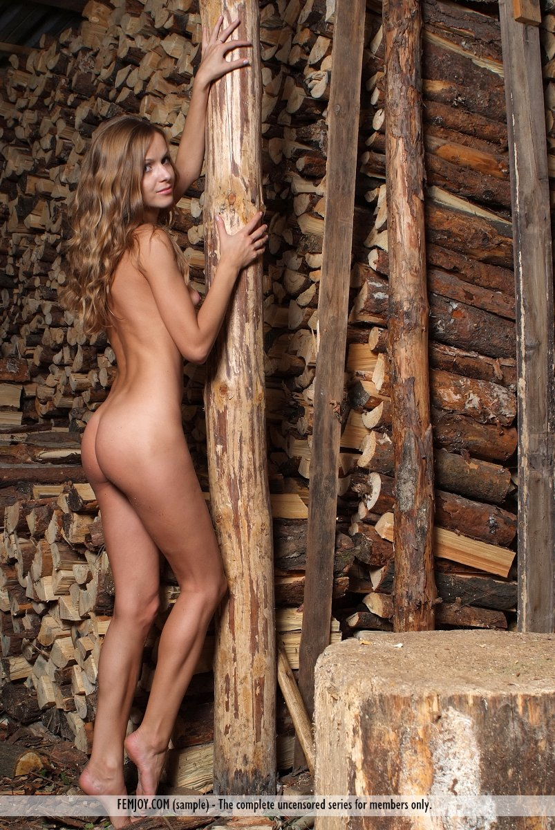 Pity, that Nude girls chopping wood consider, that