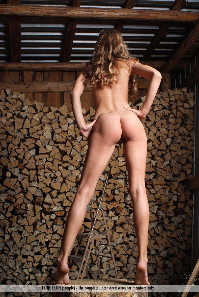 Brilliant Nude girls chopping wood amusing opinion