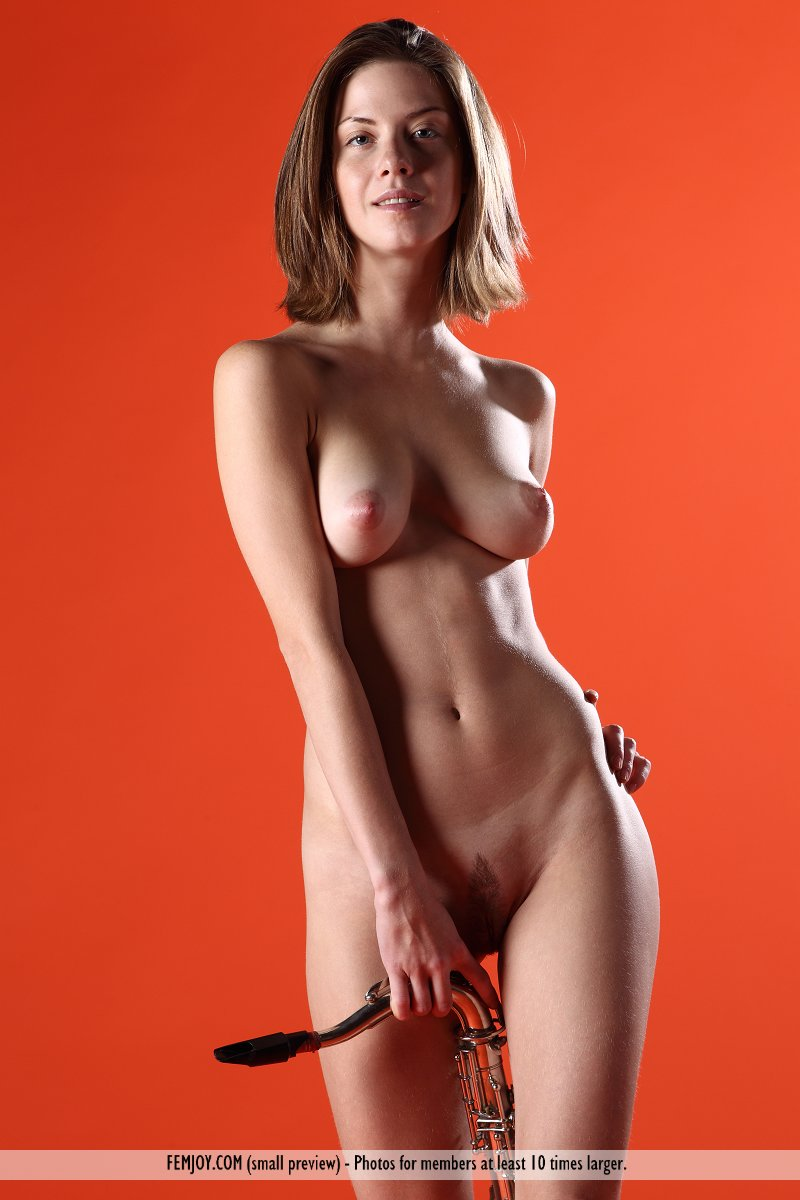 sexy lady in naked