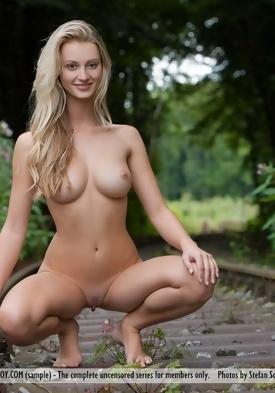 Naked woman on train screaming racial slurs - 2 4