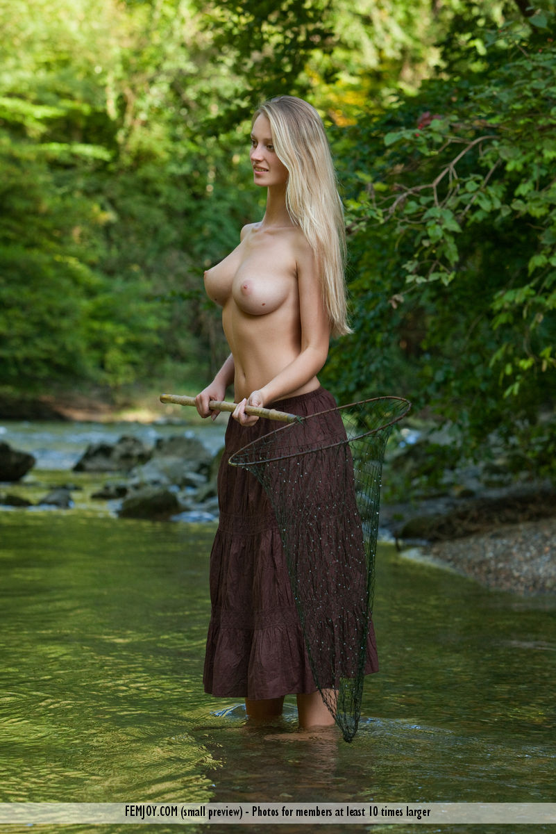 Sexy fishing picture
