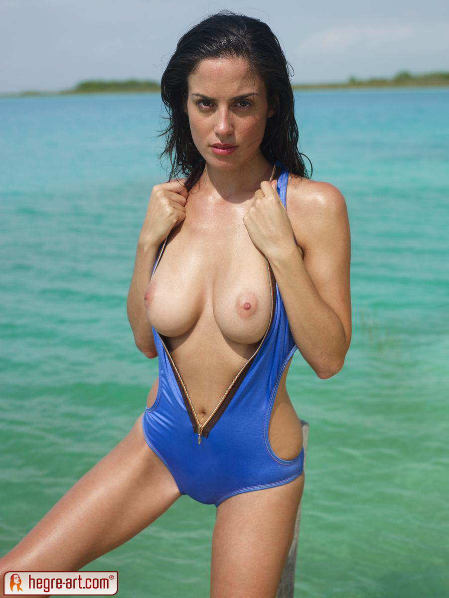 Swimsuit photos topless
