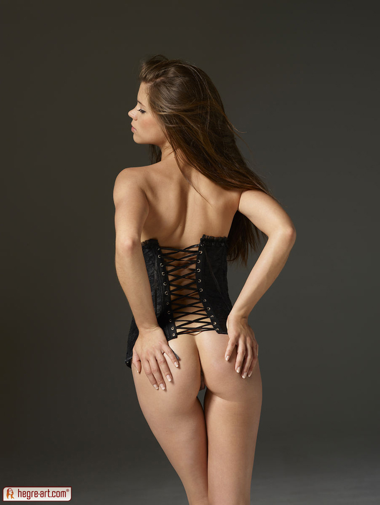 black girdle sexy