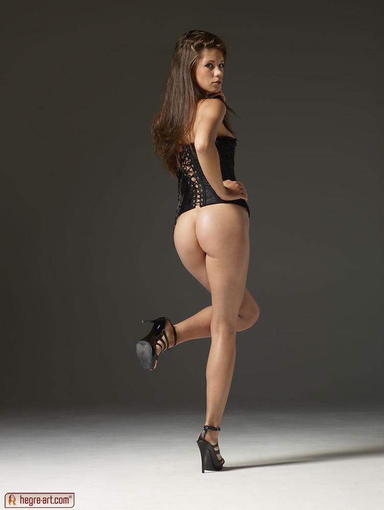 Nude Sexy corset girl
