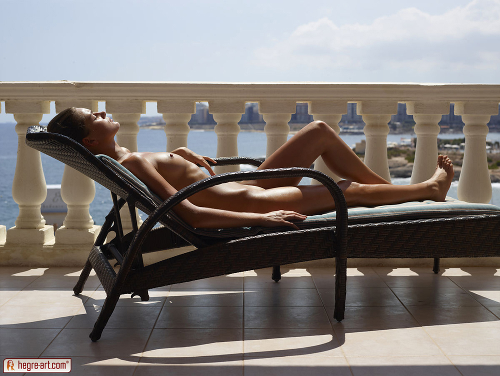 Image result for nude on sun lounger