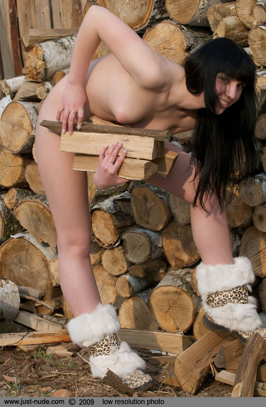 Question Tomorrow Nude girls chopping wood opinion you