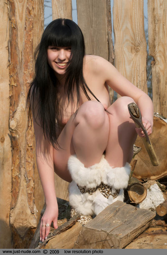 Think, Nude girls chopping wood are mistaken