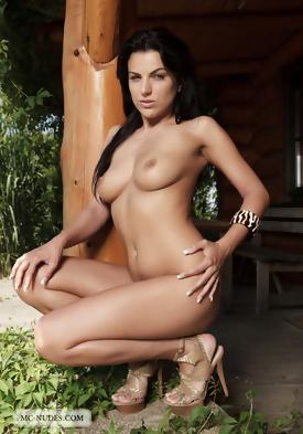 pure escort model micro bikini