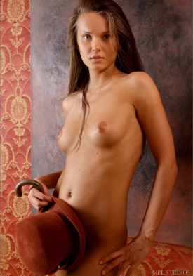 Vintage mature nude flat chest