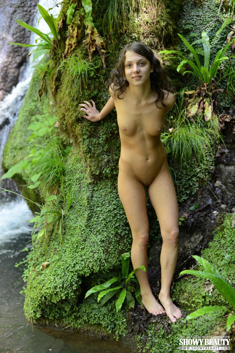 brunette breasts open legs porn gif