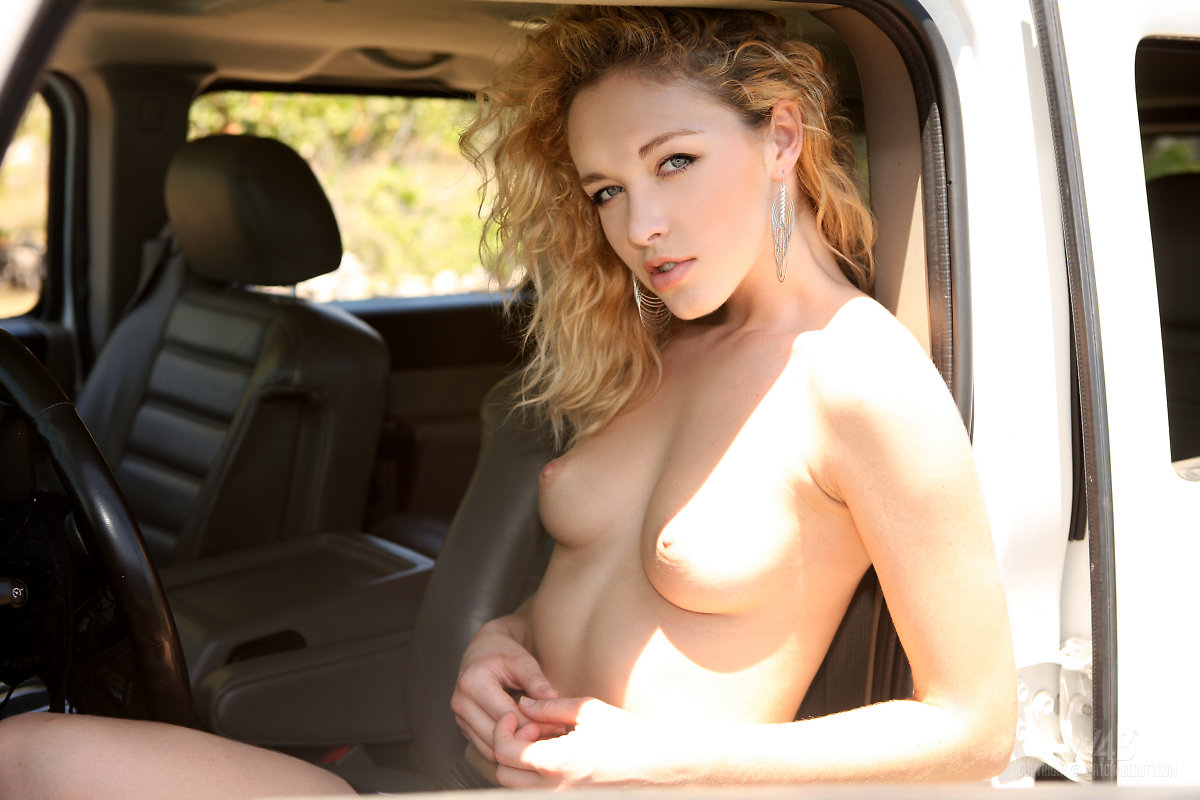 Green girl in alissa naked forest the