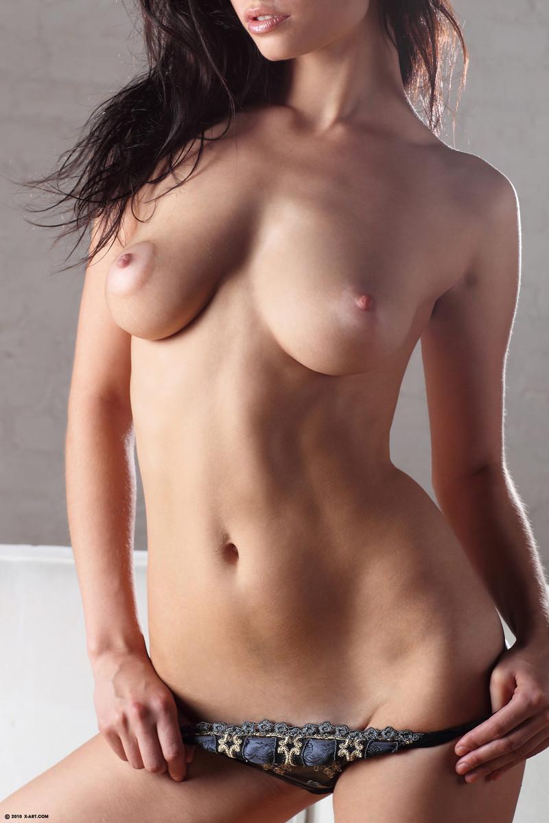 pulling on nipple porn