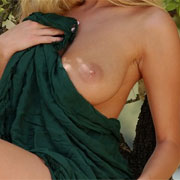 Michelle Green Blanket from Erotic Destinations