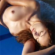 Anna S Blue Sun Bed